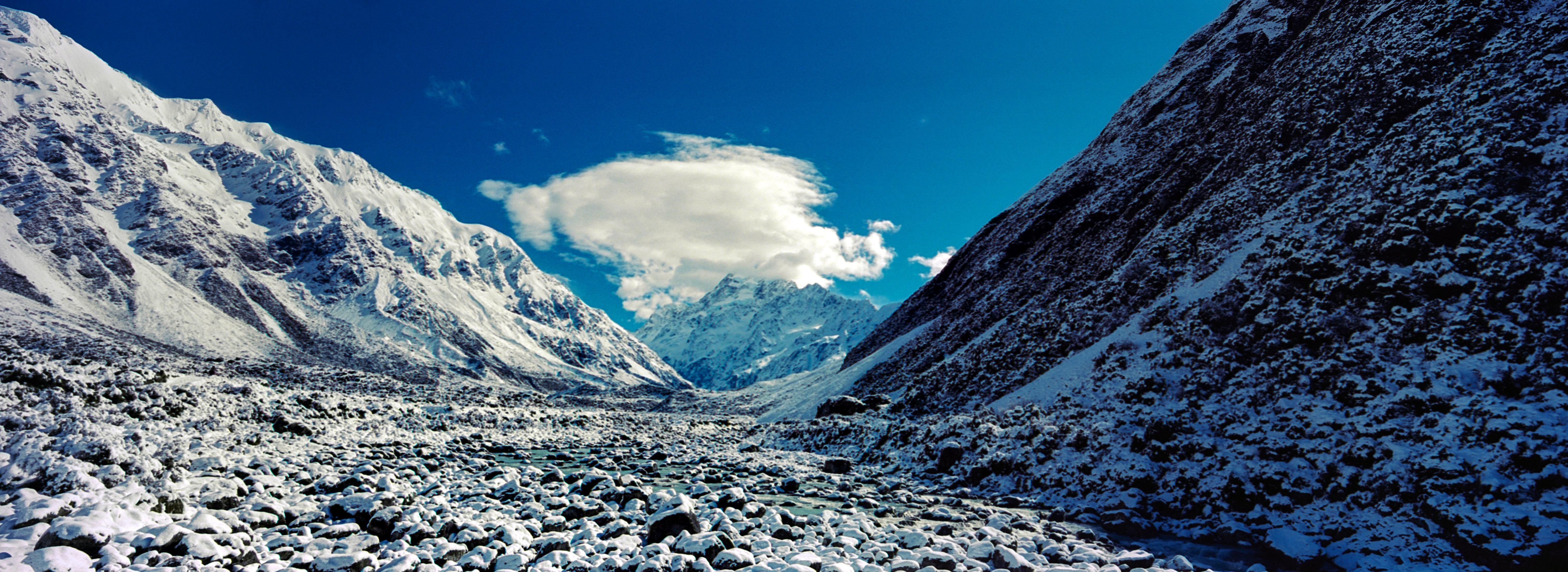 Hooker Valley, Aoraki / Mt. Cook National Park, Canterbury, South Island