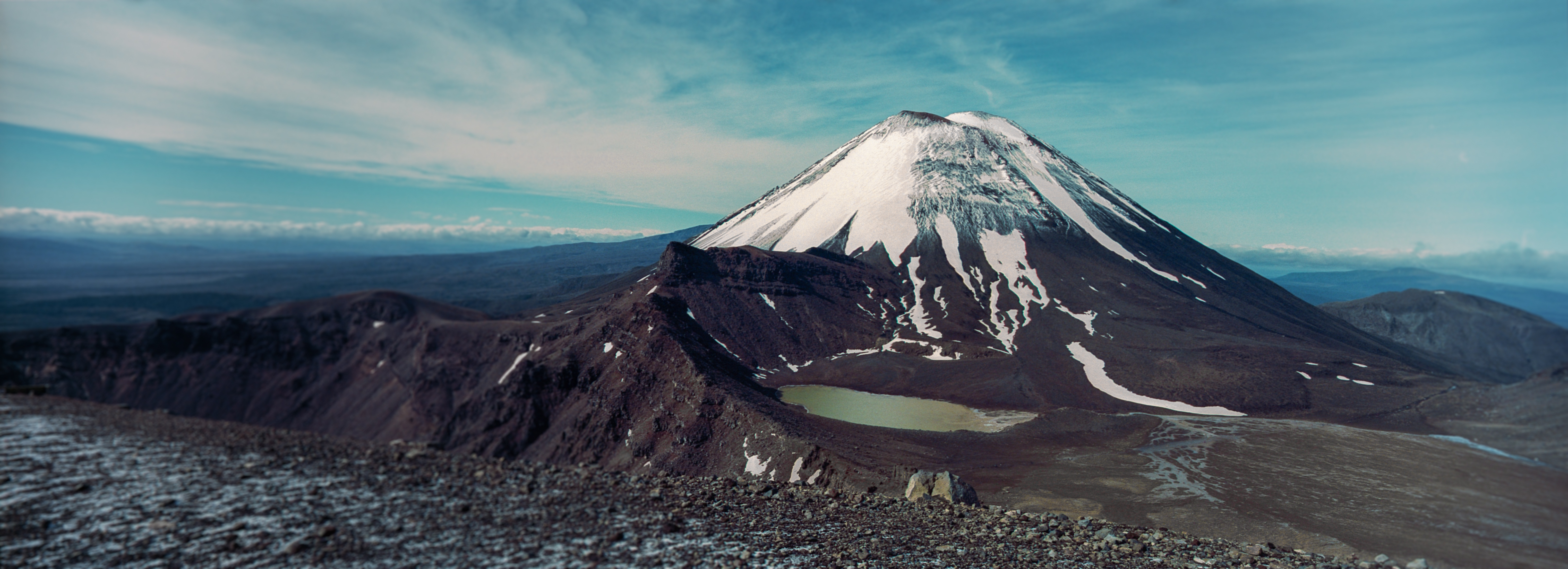 South Crater / Mt Ngauruhoe, Tongariro National Park, Ruapehu District, North Island