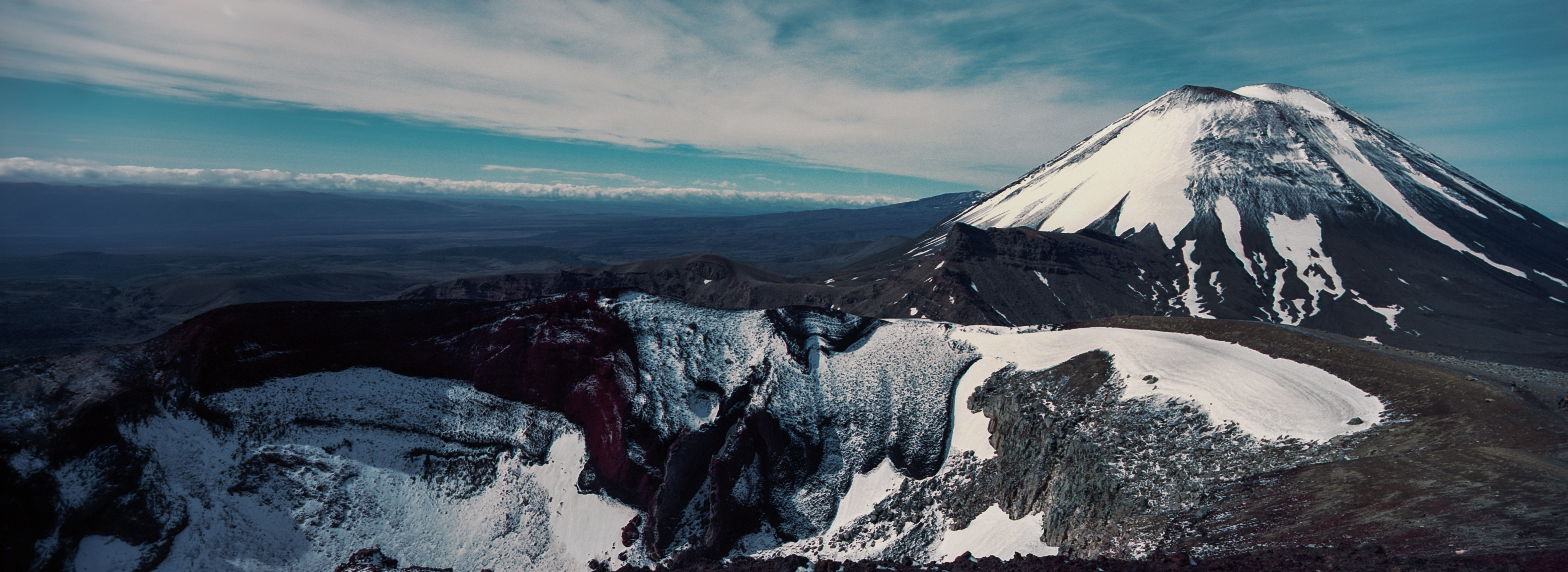 Red Crater / Mt Ngauruhoe, Tongariro National Park, Ruapehu District, North Island